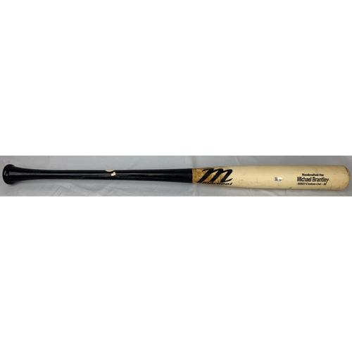 Michael Brantley Game Used Bat - 6/12/21 - HOU at MIN