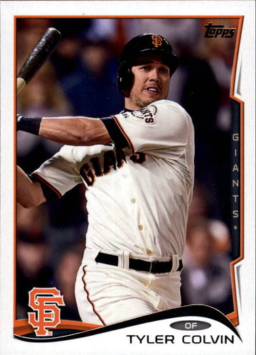 Photo of 2014 Topps Update #US132A Tyler Colvin