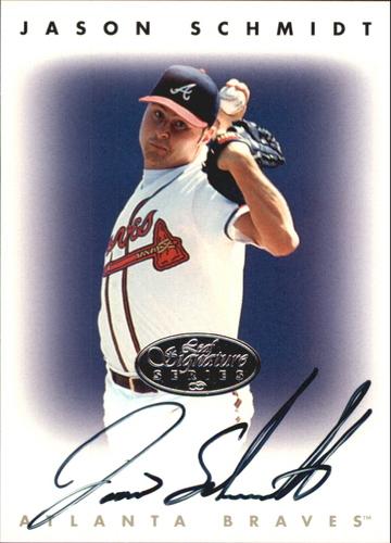 Photo of 1996 Leaf Signature Autographs Silver #205 Jason Schmidt