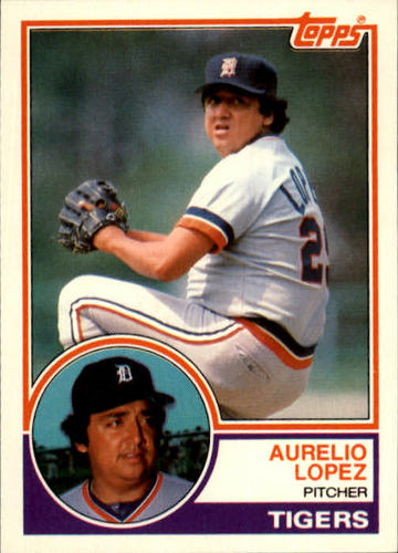 Photo of 1983 Topps Traded #63T Aurelio Lopez