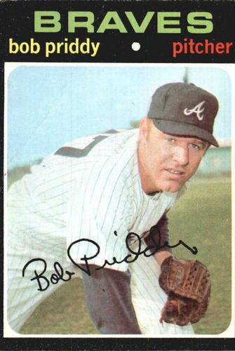 Photo of 1971 Topps #147 Bob Priddy