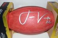 CHARGERS - JASON VERRETT SIGNED AUTHENTIC FOOTBALL