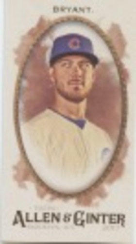 Photo of 2017 Topps Allen and Ginter Mini #1 Kris Bryant