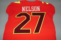 NFL - RAIDERS REGGIE NELSON GAME ISSUED AFC PRO BOWL JERSEY - SIZE 44