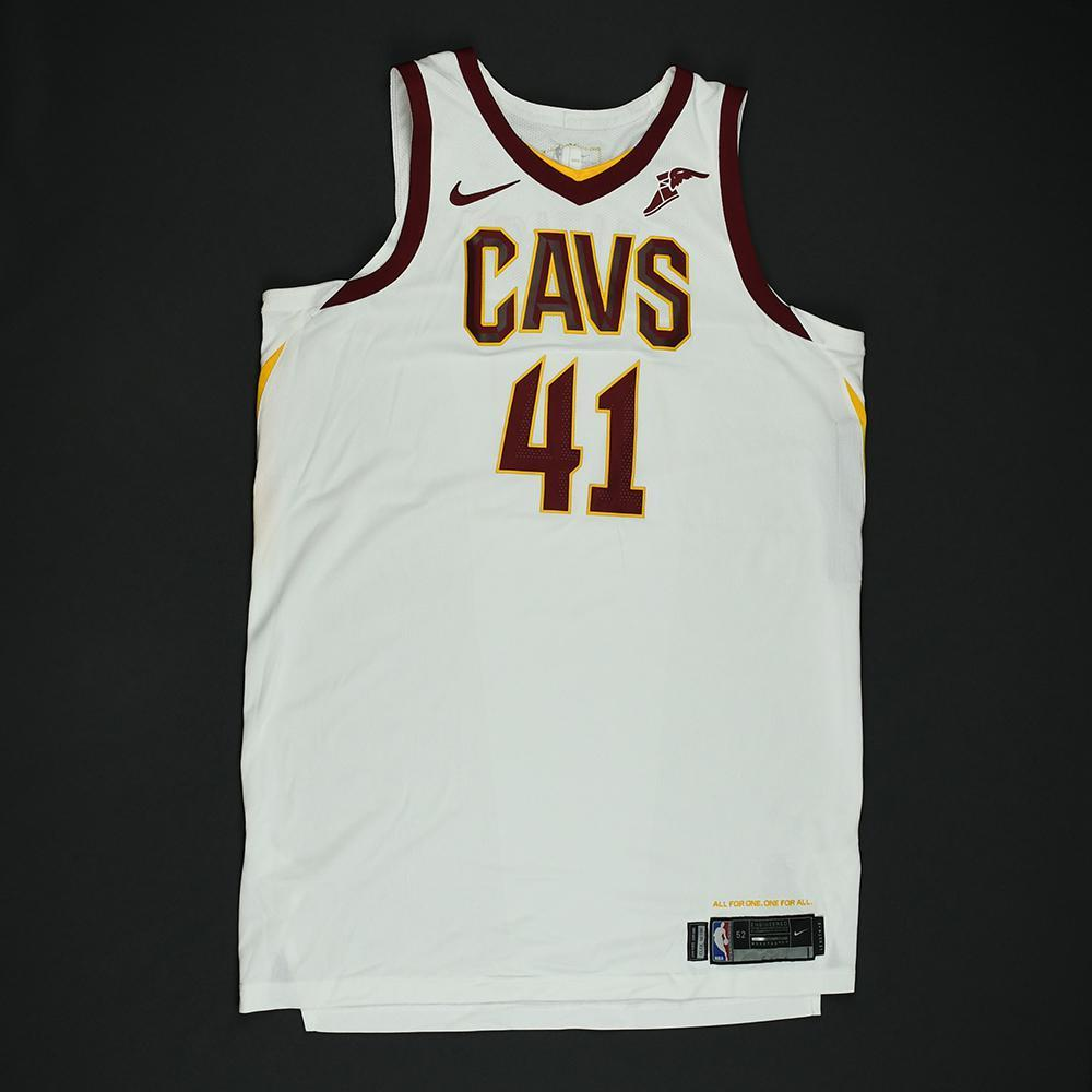 Ante Zizic - Cleveland Cavaliers - 2018 NBA Finals - Game 2 - Game-Worn White Jersey