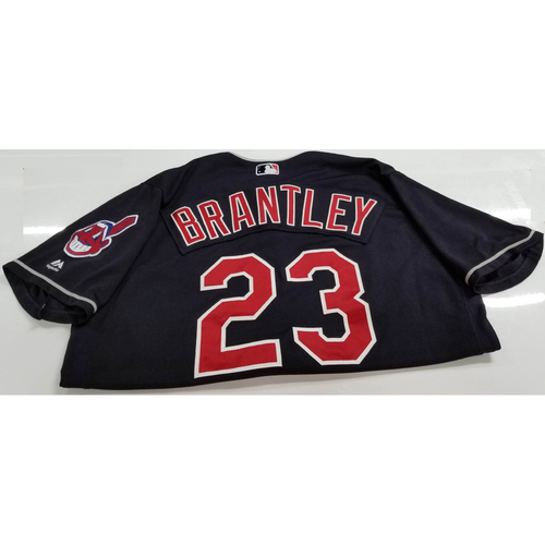Photo of Michael Brantley Game Worn Jersey - 1st Career Grand Slam