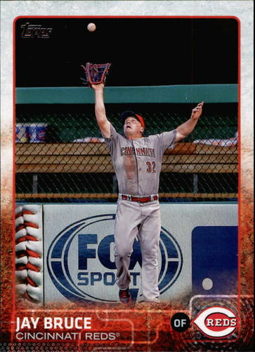 Photo of 2015 Topps #512 Jay Bruce