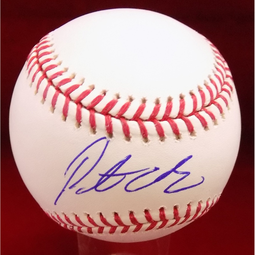 Photo of Pete O'Brien Autographed Baseball