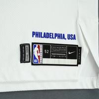 Joel Embiid - Philadelphia 76ers - Christmas Day' 18 - Game-Worn 2nd Half Earned City Edition Jersey - Double-Double