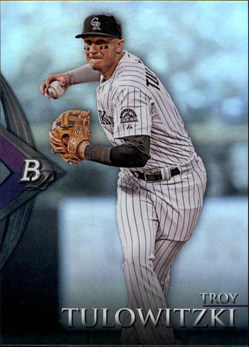 Photo of 2014 Bowman Platinum #24 Troy Tulowitzki