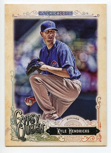Photo of 2017 Topps Gypsy Queen #61 Kyle Hendricks