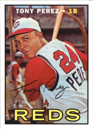 Photo of 2016 Topps Berger's Best Series 2 #BB21967 Tony Perez