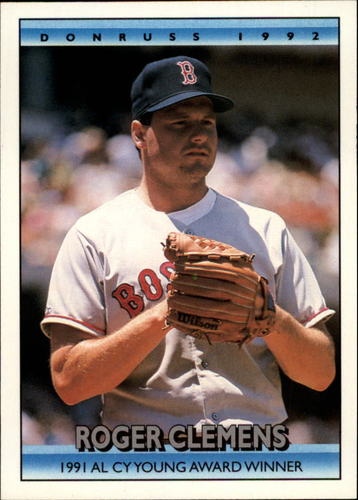 Photo of 1992 Donruss Bonus Cards #BC3 Roger Clemens CY