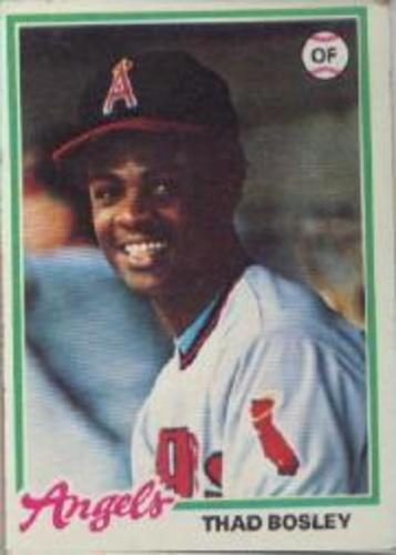 Photo of 1978 Topps #619 Thad Bosley DP RC