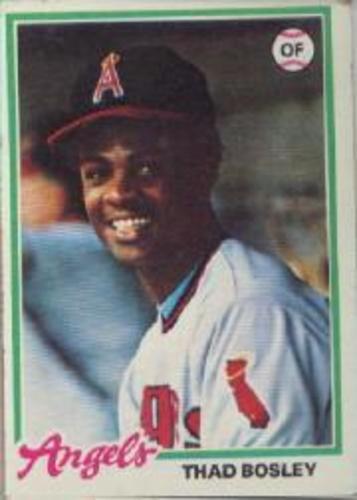 Photo of 1978 Topps #619 Thad Bosley DP RC