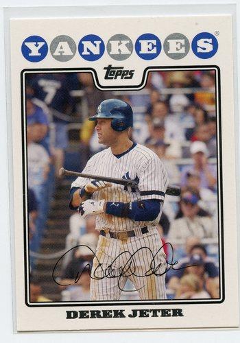Photo of 2008 Yankees Topps #NYY14 Derek Jeter