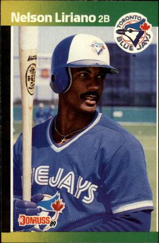 Photo of 1989 Donruss #627 Nelson Liriano DP