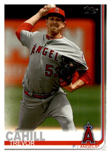Photo of 2019 Topps Update #US234 Trevor Cahill
