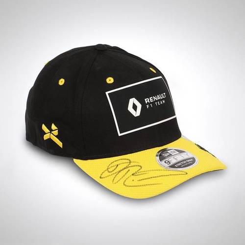Photo of Daniel Ricciardo 2020 Signed Black & Yellow Cap