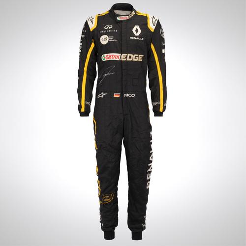 Photo of Nico Hulkenberg 2018 Signed Replica Race Suit