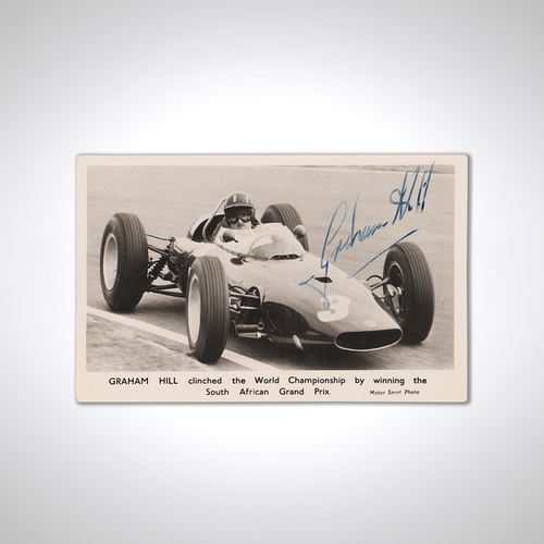 Photo of Graham Hill Signed Photograph