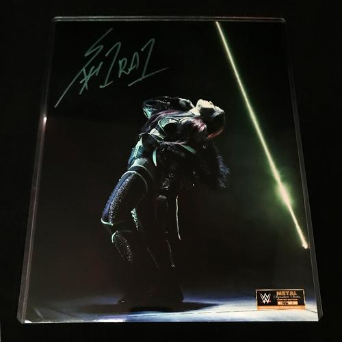 Io Shirai SIGNED Metal Signature Series 11x14 Photo (Random Number)