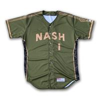 Photo of #31 Game Worn Military Jersey, Size 50, worn by Josh Lindblom.