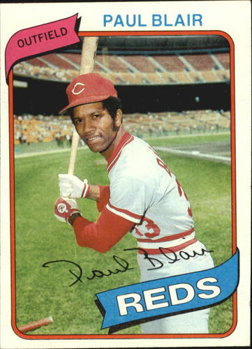Photo of 1980 Topps #281 Paul Blair