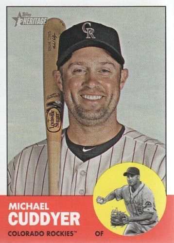 Photo of 2012 Topps Heritage #500 Michael Cuddyer SP