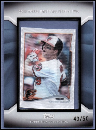 Photo of 2014 Topps Silk Collection #37 Chris Davis S2