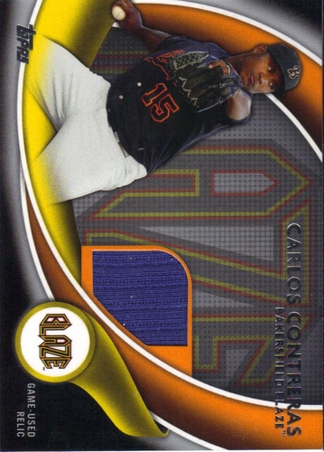 Photo of 2014 Topps Pro Debut Debut Duds Jerseys Silver #DDJCC Carlos Contreras