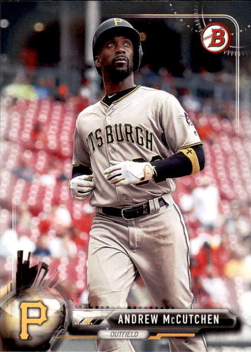 Photo of 2017 Bowman #18 Andrew McCutchen