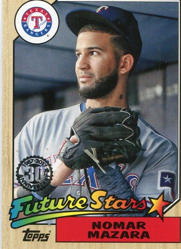 Photo of 2017 Topps '87 Topps #873 Nomar Mazara