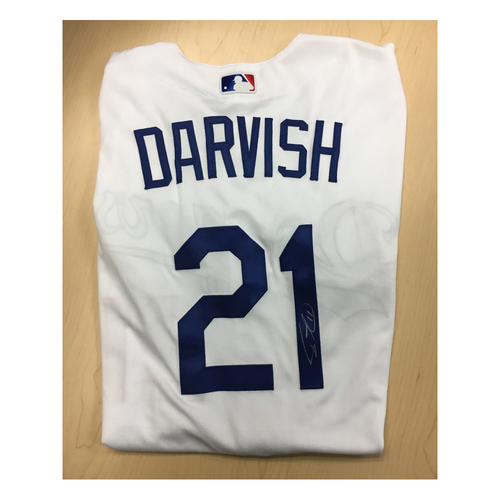 huge selection of 630e2 cd7f1 MLB Auctions | LA Dodgers Foundation Auction: Yu Darvish ...