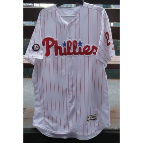 2017 Game-Used Jersey: Aaron Altherr (grand slam)