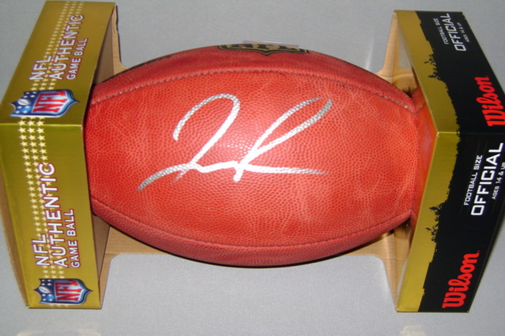 NFL - RAMS JOSH REYNOLDS SIGNED AUTHENTIC FOOTBALL