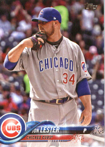 Photo of 2018 Topps #266 Jon Lester