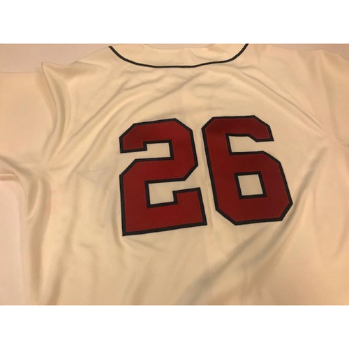 Photo of Game-Used Detroit Stars Jersey: Zac Reininger