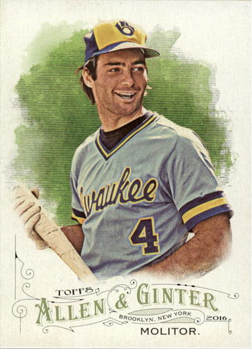 Photo of 2016 Topps Allen and Ginter #279 Paul Molitor
