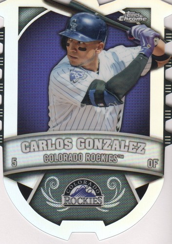 Photo of 2014 Topps Chrome Chrome Connections Die Cuts #CCCG Carlos Gonzalez
