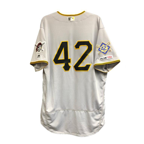 new style c85f6 03960 Pirates Auctions | Game-Used Trevor Williams 2019 Jackie ...