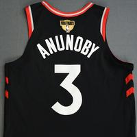 OG Anunoby - Toronto Raptors - 2019 NBA Finals - Game 3 - Game-Worn Black Statement Edition Jersey - Dressed, Did Not Play