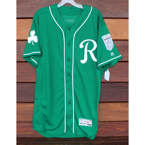 Photo of Team-Issued St. Patrick's Day Jersey: Khalil Lee (Size - 46)