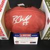 NFL - BRONCOS BRADLEY CHUBB SIGNED AUTHENTIC 'DUKE' FOOTBALL W/ '55' INSCRIPTION