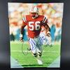 HOF - Patriots Andre Tippett Signed Canvas Print