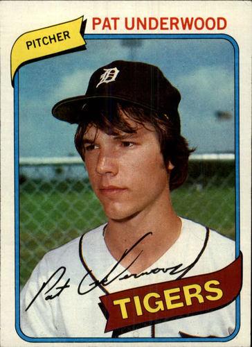 Photo of 1980 Topps #709 Pat Underwood RC