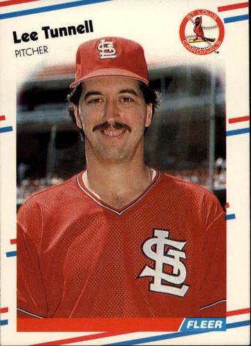 Photo of 1988 Fleer #49 Lee Tunnell