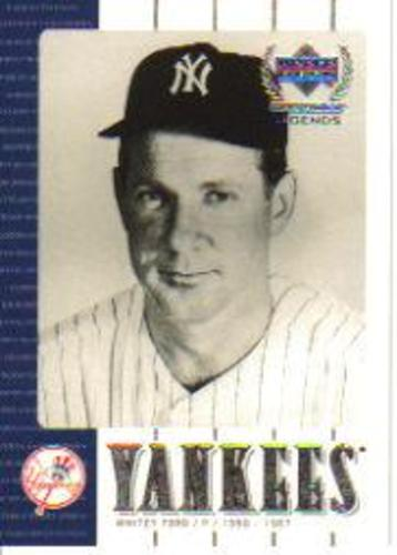 Photo of 2000 Upper Deck Yankees Legends #18 Whitey Ford