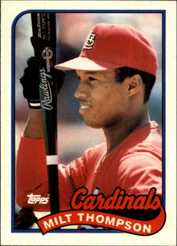 Photo of 1989 Topps Traded #118T Milt Thompson