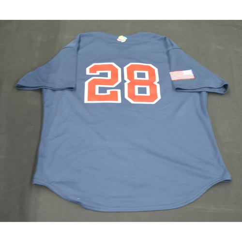 Photo of 2017 World Baseball Classic Batting Practice Jersey - Buster Posey - USA (Size XL)